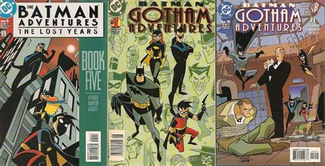 The Lost Years the batman adventures the lost years by trivto on deviantart
