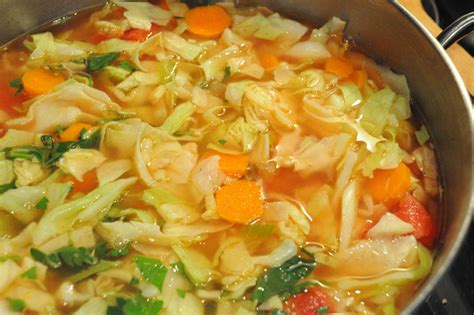 Cabbage Soup Detox Cleanse by 7 Day Detox Cabbage Soup Lizzy Food