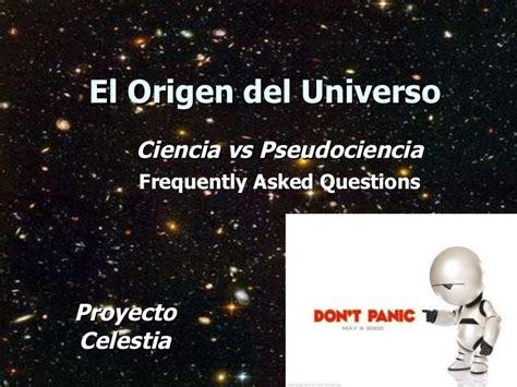 el origen del universo 848441891x el origen del universo