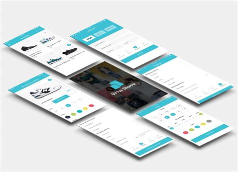 buy mobile app design ui ux template kit utilities for