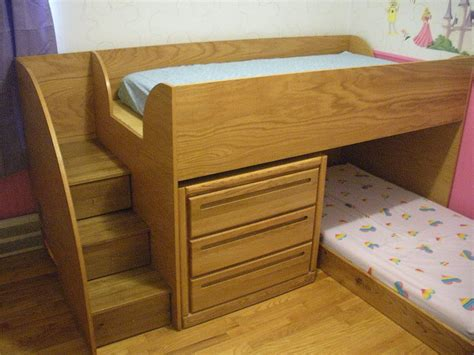 personalized beds custom oak bunk beds for violet and ophelia labra design build
