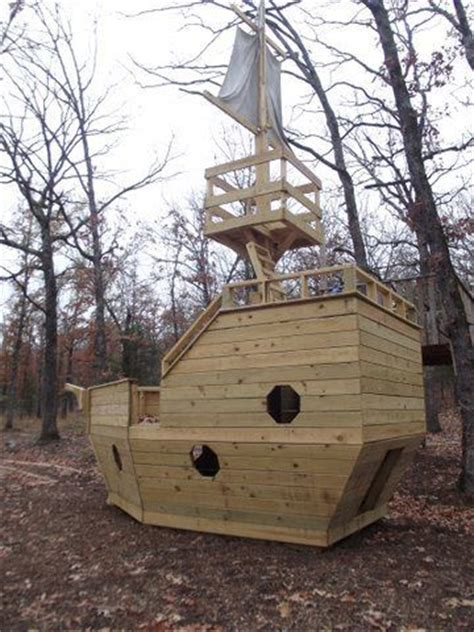 backyard pirate ship plans outdoor pirate ship playset plans the kids back yard