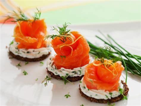 smoked salmon canape ideas salmon canapes recipe dishmaps