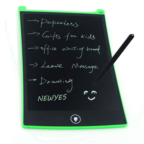 New Lcd Writing Tablet Board 8 5 Inch Papan Tulis Lcd Digital newyes 8 5 inch lcd writing tablet drawing board gifts for office writing board green