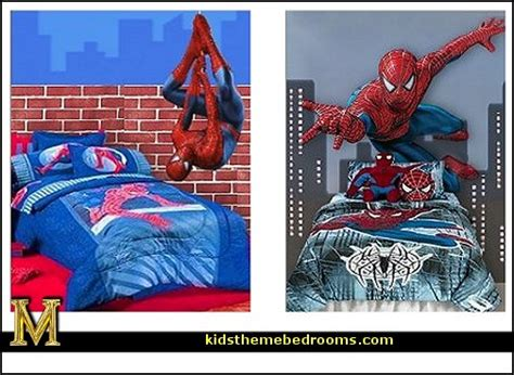 spiderman bedroom decorations decorating theme bedrooms maries manor superheroes