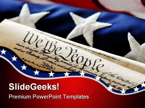 united states powerpoint template united states constitution government powerpoint templates