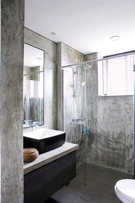 bathroom design ideas  material finishes  walls