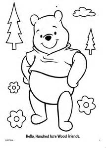 friends tigger pooh coloring pages az coloring pages