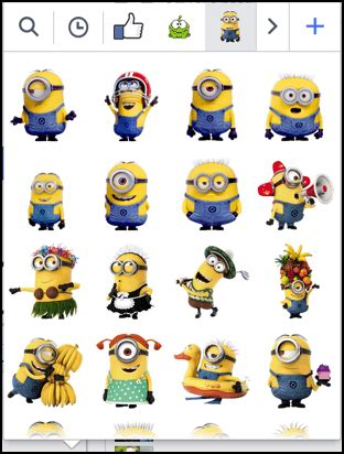 download sticker minion deloiz wallpaper how can i get more facebook chat stickers ask dave taylor