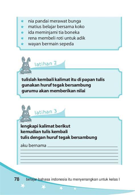 3 Senang Belajar Bahasa Indonesia Kelas Iii Sd Ktsp 2016 Yudhistira kelas i sd bahasa indonesia ismail kusmayadi