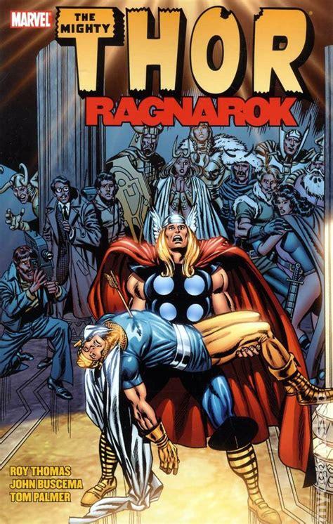 marvel s thor ragnarok the of the books thor ragnarok tpb 2011 marvel by roy comic books
