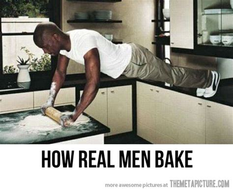 Men Cooking Meme - funny black man baking bread