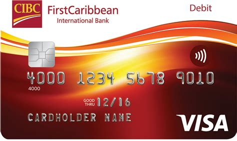 International Use Visa Gift Card - firstcaribbean international bank chip pin contactless cards