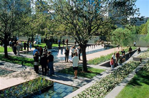 Sculpture Garden Dallas by Nasher Sculpture Center Pwp Landscape Architecture