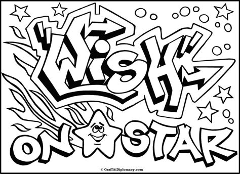 graffiti coloring book omg another graffiti coloring book of room signs learn