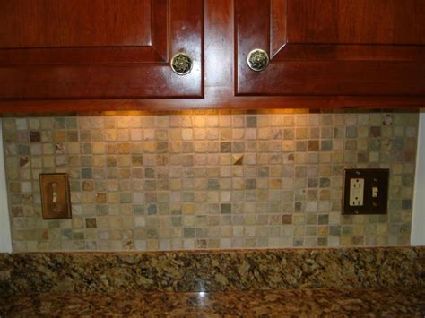 What To Do With The Space Above Kitchen Cabinets by Mosaic Ceramic Tile Backsplash Your New Floor