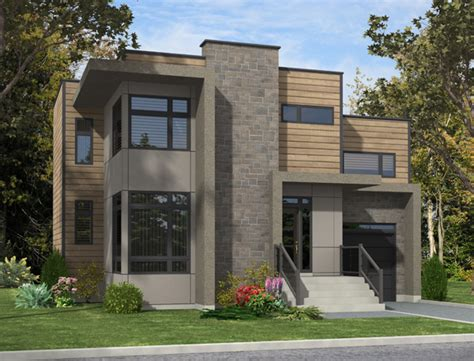 contemporary house plan    bedrm  sq ft