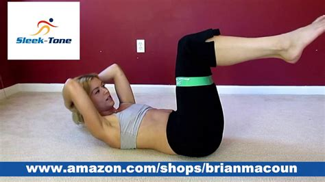 resistance band loop abs workout