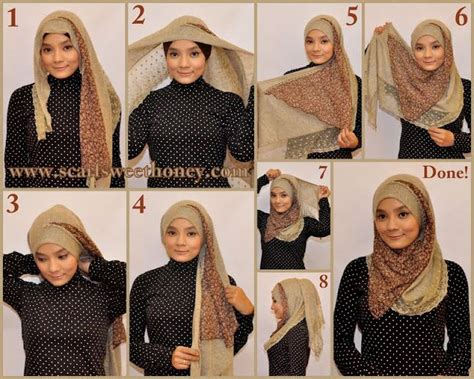 tutorial pashmina double how to tie hijab yes ive worn this too fashion face