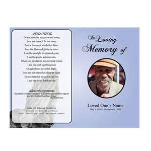 Prayer Cards For Funerals Template by Prayer Single Fold Memorial Program Funeral Phlets