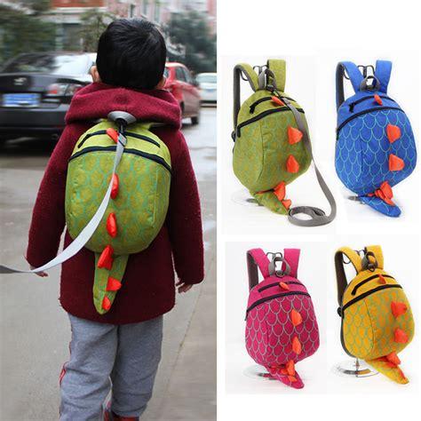 Tas Baby tas sekolah anak karakter dinosaurus green