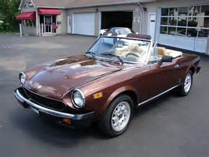 1980 Fiat Spider 2000 For Sale Featured Cars For Sale 1980 Fiat Spider 2000 Classic