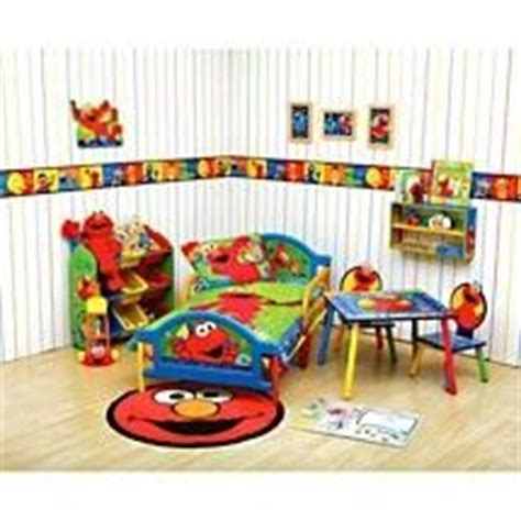elmo bedroom decor time to learn with elmo 4 piece