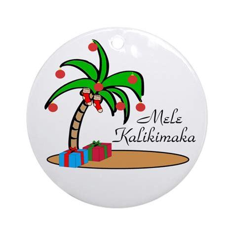 mele kalikimaka ornament by renysgallery