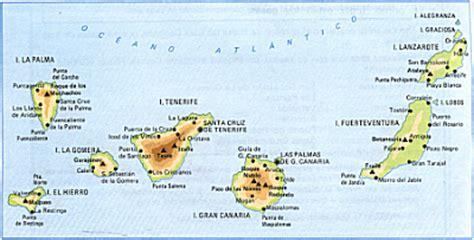 islas canarias y africa mapa el loco de la colina m 225 gica marzo 2009