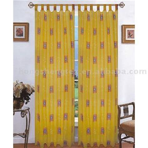 curtains with loops voile curtain with loops