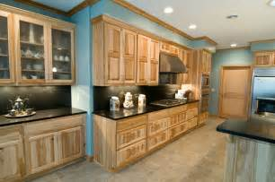 Natural Hickory Kitchen Cabinets Natural Hickory Kitchen Traditional Kitchen