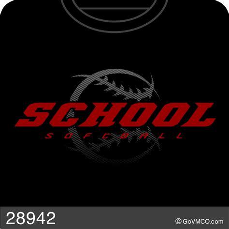 softball design templates baseball softball varsity mascot co custom school