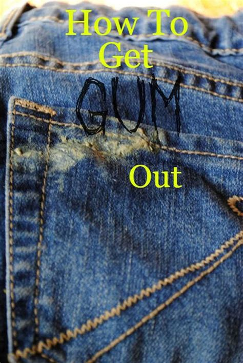 How To Get Gum Out Of A by 31 Diy Hacks For Fixing Clothes Clothing Repair
