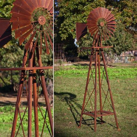 Garden Decoration Windmill by Rustic Garden Windmill Antique Farmhouse