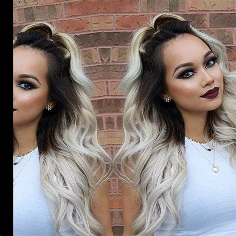 creating roots on blonde hair 112 best blonde hair with dark roots images on pinterest