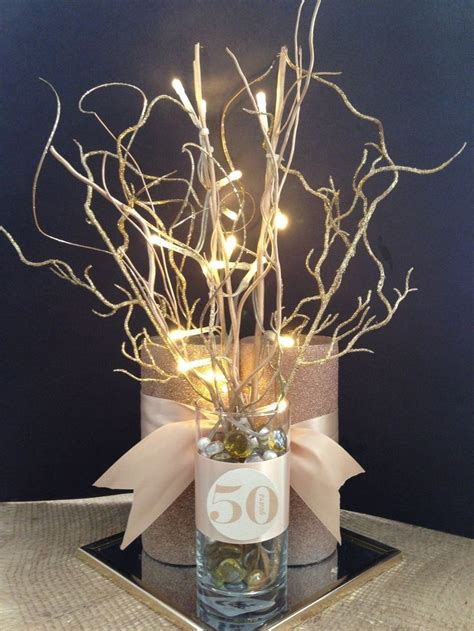 50th anniversary table table decorations for 60th wedding anniversary