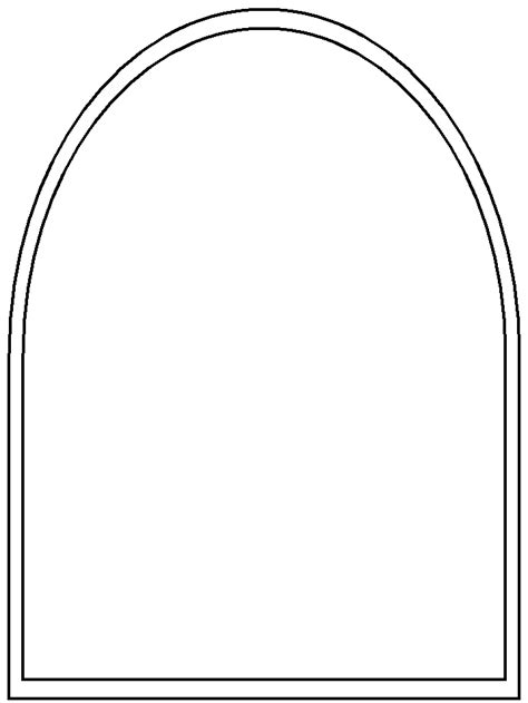 stained glass window templates arched window template free pdf quilts stained