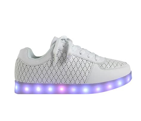 Led Shoes Kets Cewe 37 42 galaxy led shoes light up usb charging low top pattern sneakers white galaxy led shoes