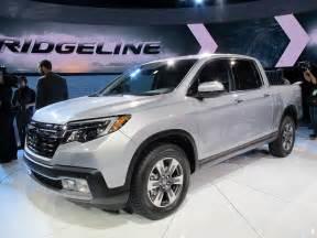 Honda Detroit 2017 Honda Ridgeline Debuts At Detroit Auto Show Live