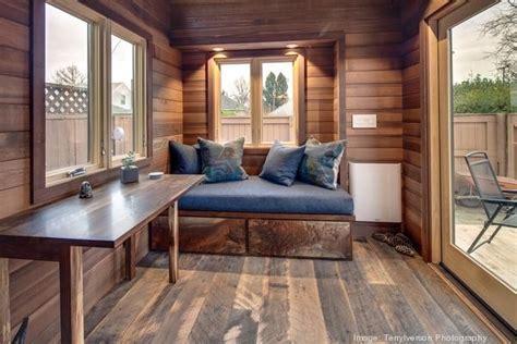 tiny home for backyard living in 160 sq ft backyard tiny house