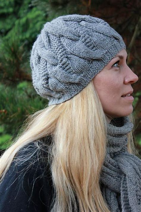find your favorite free cable knit hat pattern