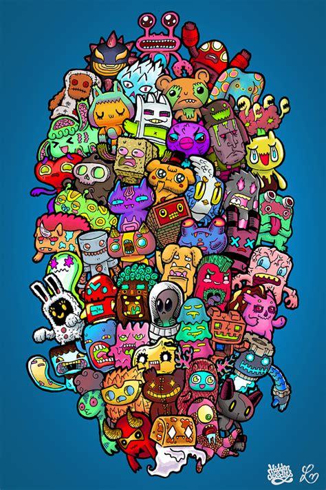 colour doodle drawing board 35 imaginative doodle designs free premium templates