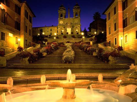spanische treppe rom trinita dei monti church steps rome italy picture
