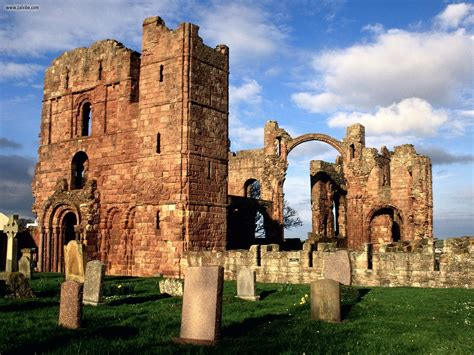 Viewing History Lindisfarne by Known Places Lindisfarne Priory Northumberland