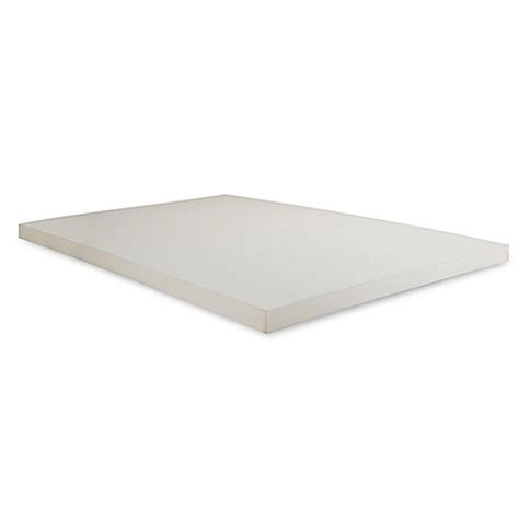 mattress topper bed bath and beyond buy independent sleep king size 2 inch memory foam