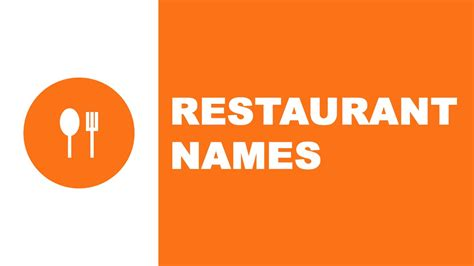 best name for restaurant names the best names for your company www