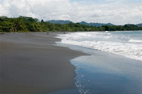 what is black sand black sand beach