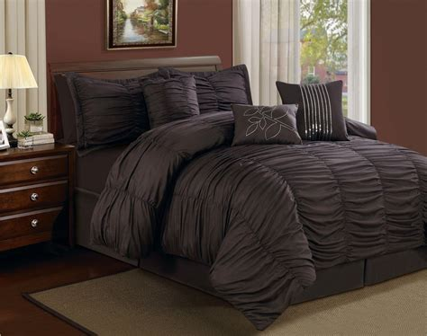 black bed comforter sets top 10 rich chocolate brown comforters for a bedroom