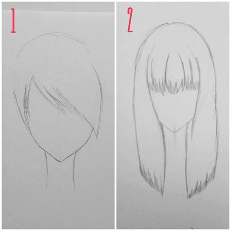 how to draw bangs drawing tips basic tutorial hair pt 1 anime amino