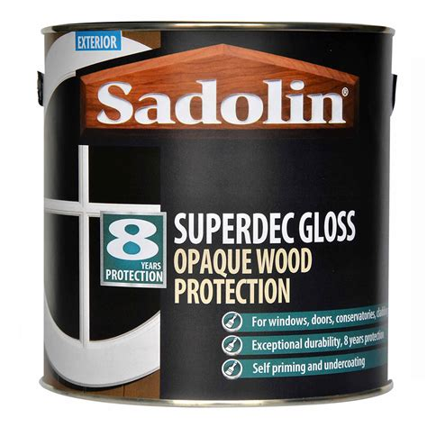 sadolin exterior wood paint sadolin superdec gloss opaque wood protection sadolin